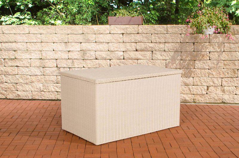 Luxus Rattan Auflagenbox Kissentruhe Gr. XL