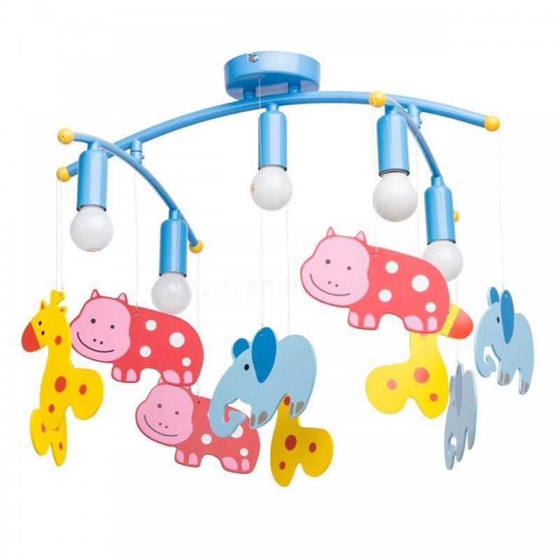 Deckenleuchte Kinderzimmer Zoo