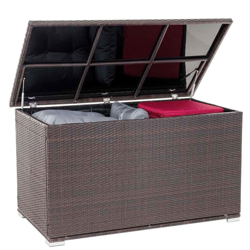 Luxus Rattan Auflagenbox Kissentruhe 685L